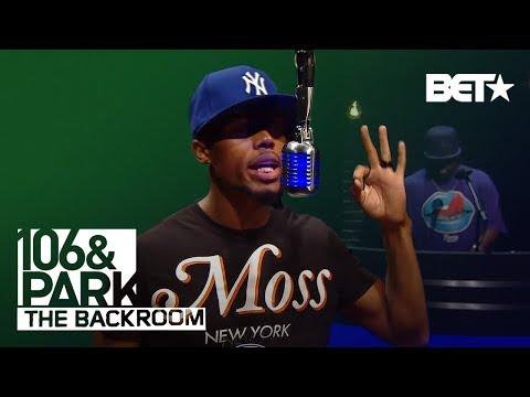 B.o.B. 106 & Park Backroom Freestyle!