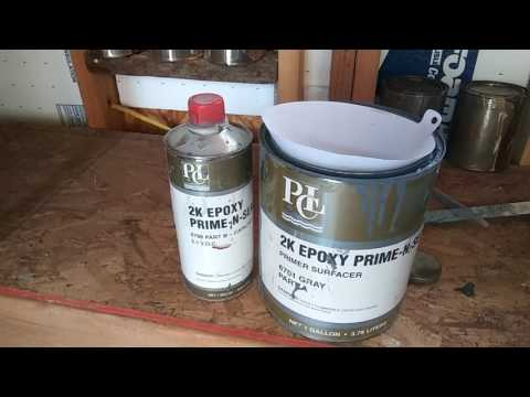 epoxy primer review PCL 2k epoxy prime and seal primer surfacer