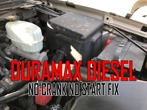 6 6 Duramax Crank no start GM Chevy GMC - Tech Tips Angry mechanic