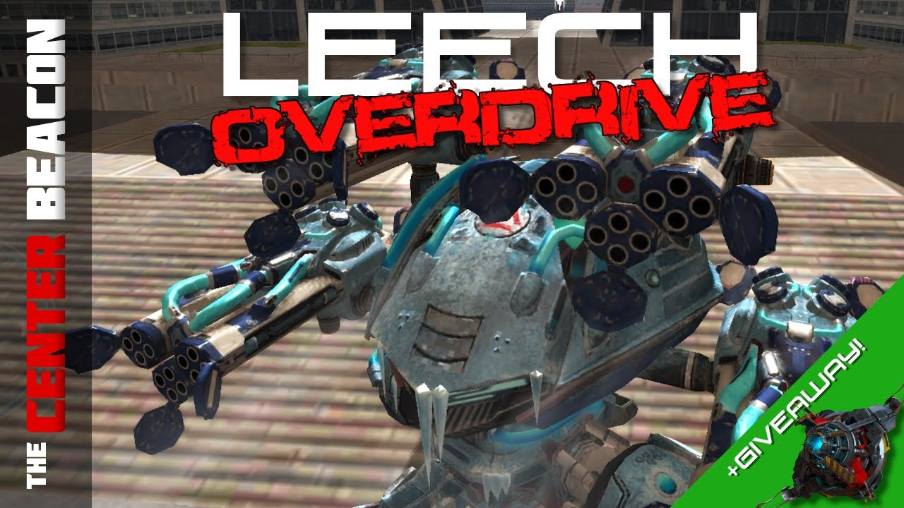 War Robots | Leech Overdrive + Giveaway