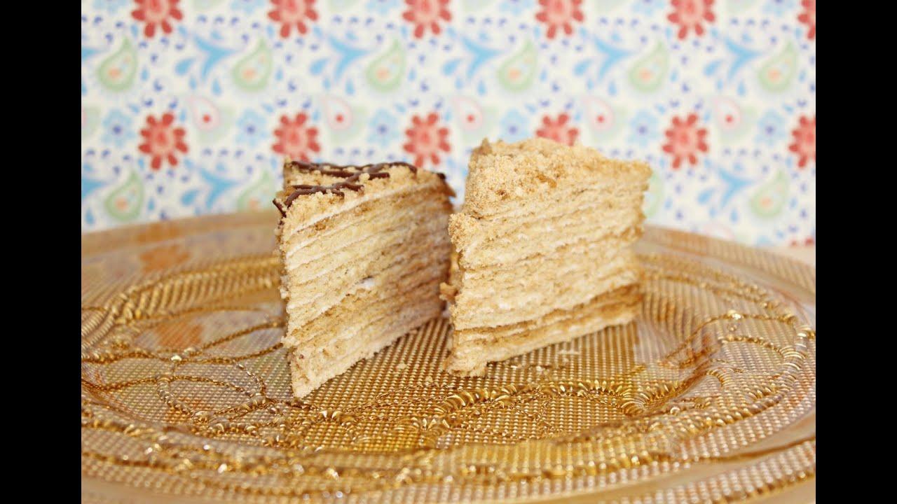 Russische Honigtorte Nach Balkanart Medena Torta Russian Honey