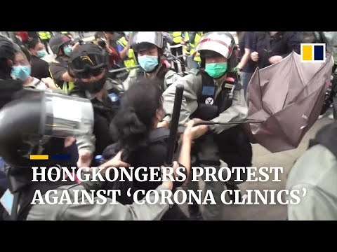 Hong Kong Coronavirus Protest: Disruption Near Quarantine Sites Close To Residential Areas