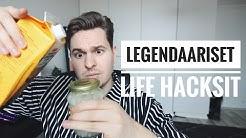 Testissä legendaariset Life Hacksit!