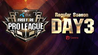 Garena Free Fire Pro League Regular Season Day 3