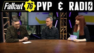Fallout 76 - PVP and Radios - Pete Hines E3 Interview