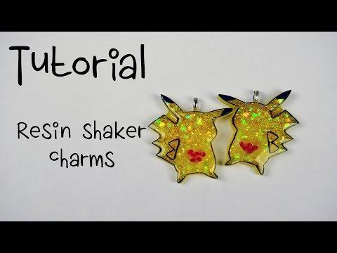 Tutorial - Resin Shaker Charm!!