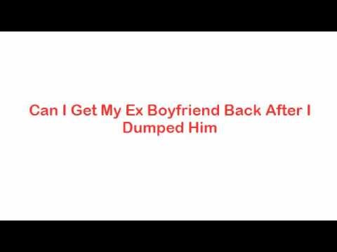 how to get ex boyfriend back after a year