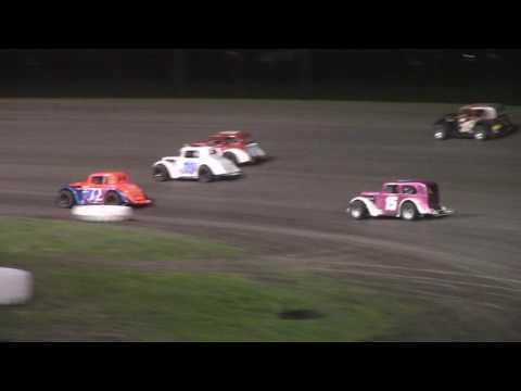 Red River Valley Speedway INEX Legends A-Main (5/19/17)