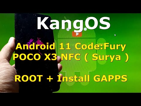 KangOS Fury Official for Poco X3 NFC (Surya) Android 11