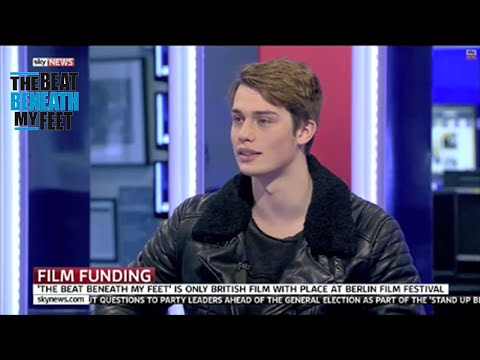Nicholas Galitzine on Sky News