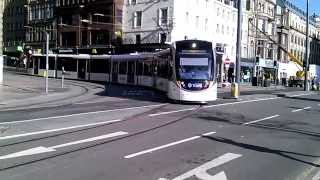 EDINBURGH TRAMS 2014