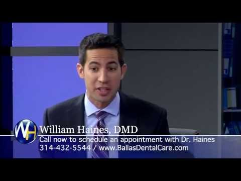 Cosmetic Dentistry with St. Louis dentist William Haines, DMD