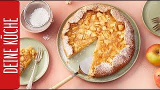 Hier geht's zum Rezept: http://bit.ly/REWE_Apfel-Galette Diese fruc...