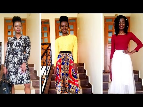 [VIDEO] - HOLIDAY LOOKBOOK / 6 HOLIDAY INSPIRED OUTFIT IDEAS/ KENYAN YOUTUBER 2