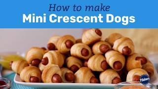 How to Make Mini Crescent Dogs | Pillsbury Basics