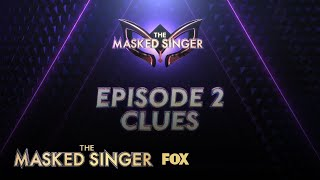 Week Two Clues | Season 1 Ep. 2 | THE MASKED SINGER