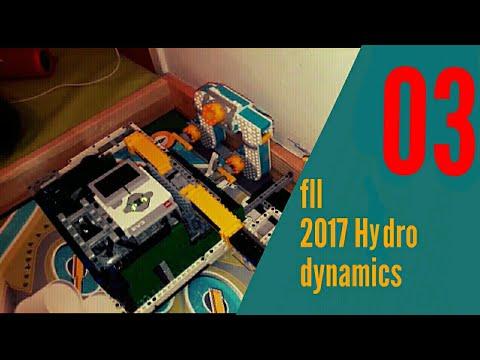 FLL Hydro Dynamics robot 03 - First Lego League