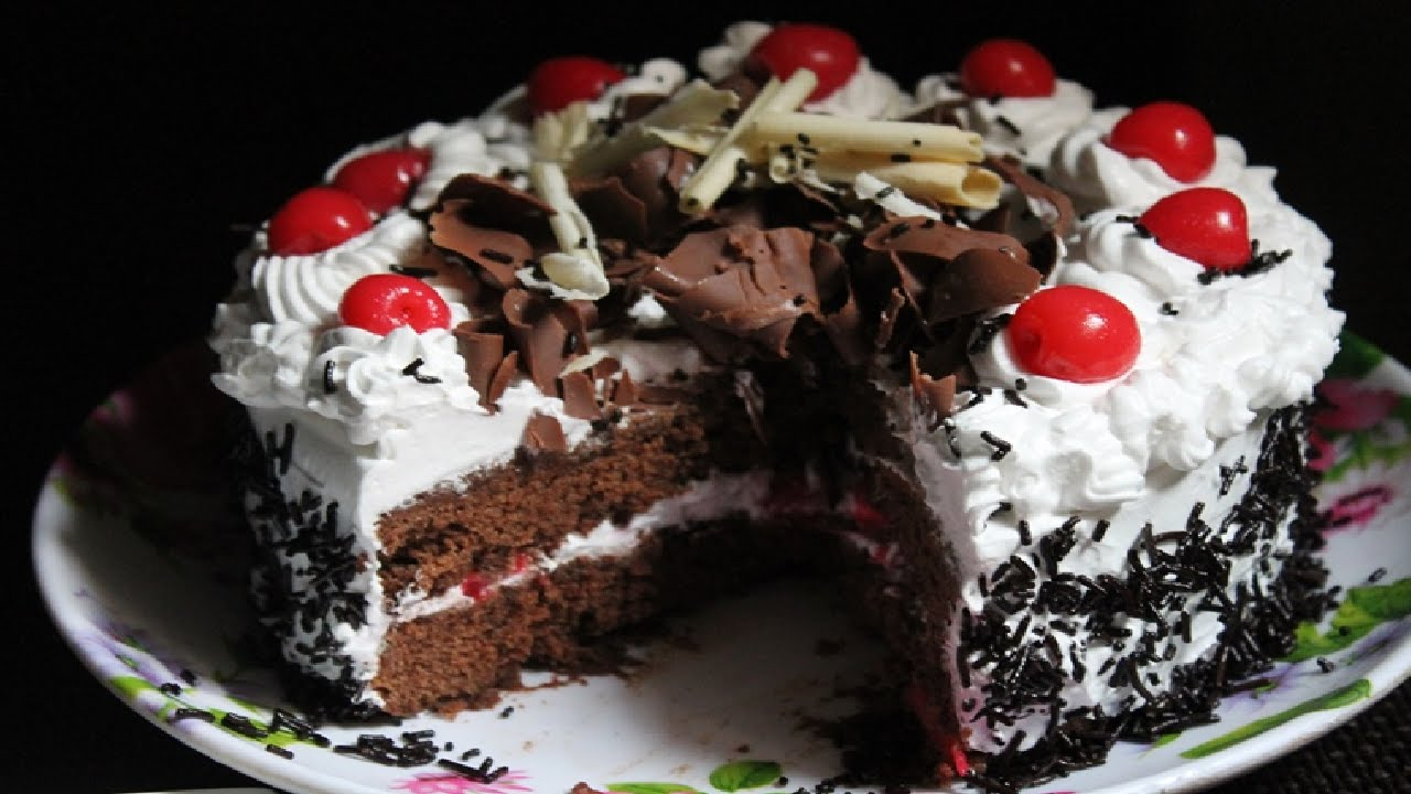 Black Forest Cake Recipe How To Make Delicious Black