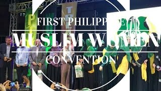 QUEENIE PADILLA & USAMA MIR | FIRST MUSLIM WOMEN CONVENTION IN MANILA | PHILIPPINES VLOG #1