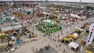 Die größte Baumaschinenmesse der Welt Bauma in München