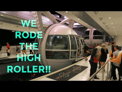 Our RIDE On The High Roller Near The Linq