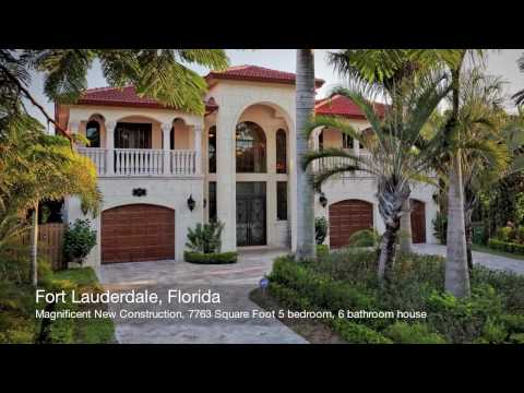 Magnificent New House For Sale in Fort Lauderdale, FLORIDA