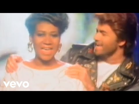 George Michael, Aretha Franklin - I Knew You Were Waiting (For Me) (Official Video)