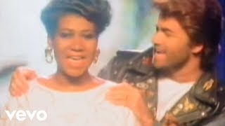Смотреть музыкальный клип George Michael, Aretha Franklin - I Knew You Were Waiting