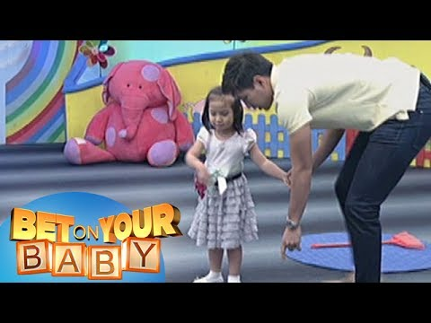 Bet On Your Baby: Baby Dome Challenge With Daddy Jeff And Baby Aerin