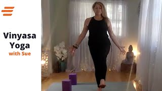 04/14- BE WELL LIVE CLASS VINYASA: With Sue 45 Min