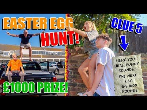 EXTREME EASTER EGG HUNT OVER THE UK!! £1000 PRIZE! FULL BARKER FAMILY!!