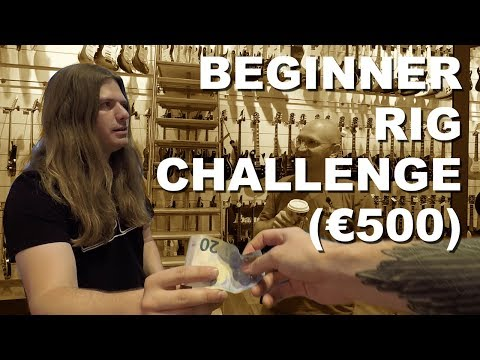 Beginner Rig Challenge (€500) with Rob Baker