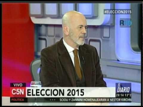 C5N - ELECCION 2015: ENTREVISTA A CARLOS TELERMAN