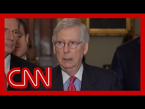 Mitch McConnell responds to Trump's attacks on Democratic congresswomen