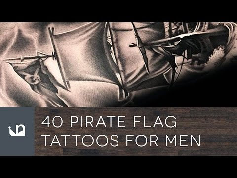 40 Pirate Flag Tattoos For Men