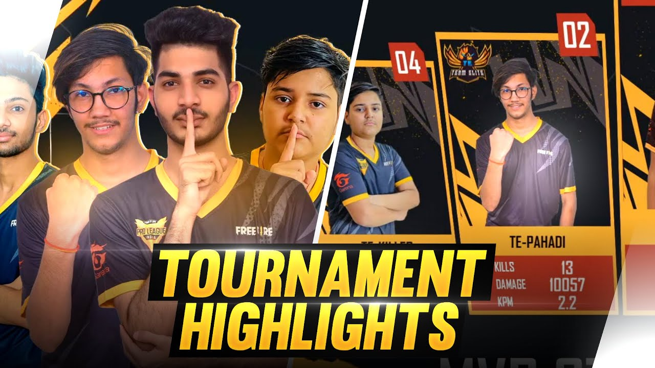 Free Fire Pro League Highlights By TE-PAHADI || Overpower M82b & AWM ||
