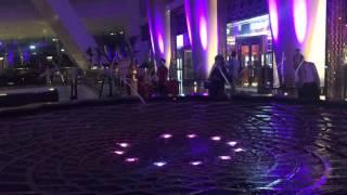 Water fountain at Burj al Arab
