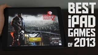 Best iPad Games of 2013