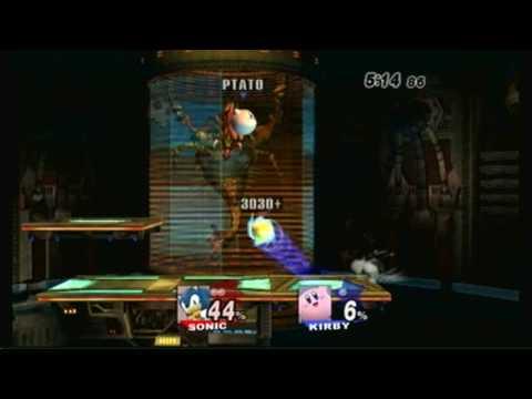 SSBB 59 - Kinzer (Sonic) vs. Kirrrby (Kirby)
