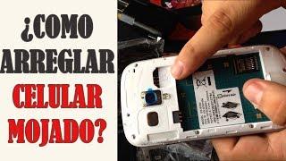 Que hacer si tu Celular se Moja y NO Enciende | Reparar Teléfono Mojado | SOLUCIONADO |