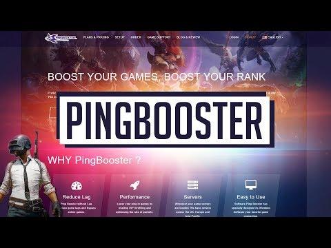 รู้จักกับ PingBooster : ลดแลค ลดกระตุก ฝ่าบล๊อค สำหรับ Gamer