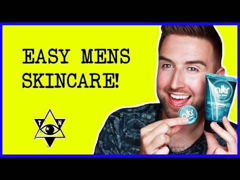 QUICK & EASY MALE SKINCARE FOR PERFECT SKIN | thatsNathan