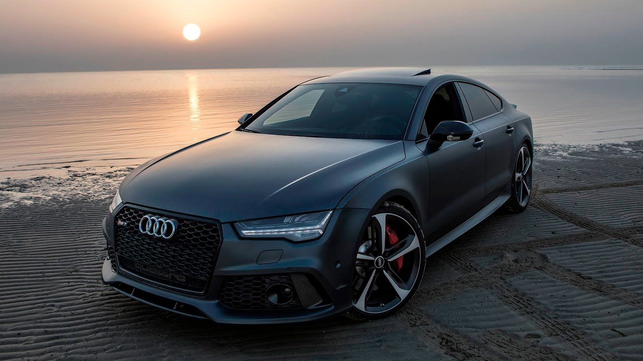 ברצינות 2017 Audi RS7 Performance (605hp) - Dances beautifully at the ME-25