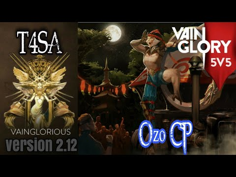 5v5 T4SA | Ozo CP - Vainglory Hero Gameplay From A Pro Player