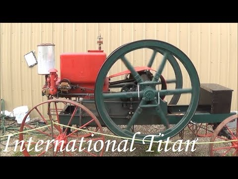 1915 international titan engine youtube