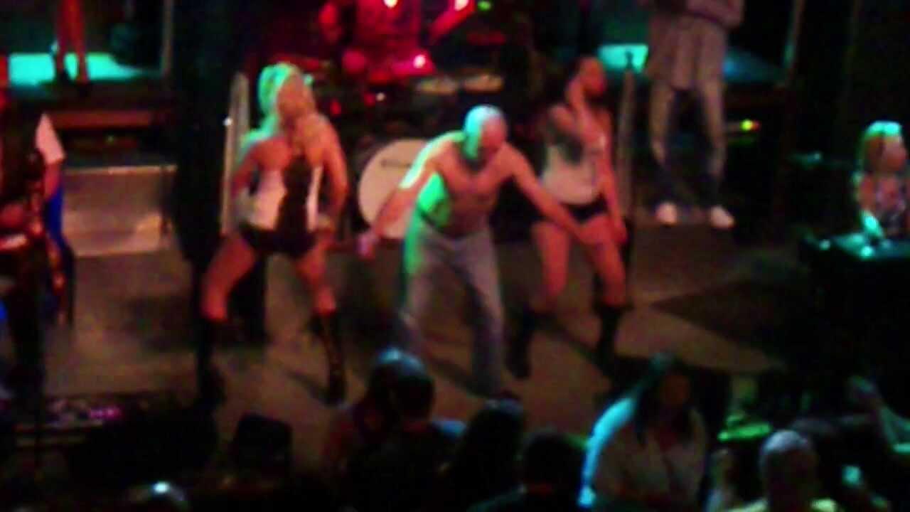 Old Guy Dancing At Nightclub In Myrtle Beach 2017 Spring Break