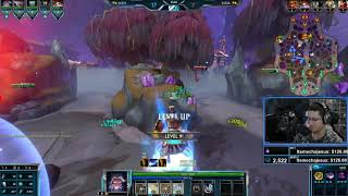 Zeus: BEAT ANOTHER STREAMER SO BAD HE RAGE BANNED HIS MOD! - Smite