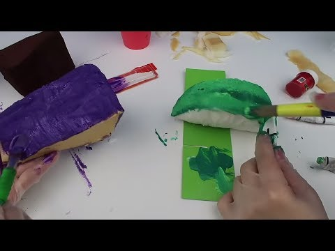 Squishy Yapıyoruz! karpuz vs pasta dilimi Challenge Sukuşi Nasıl Yapılır DIY SukuşiBidünya Oyuncak