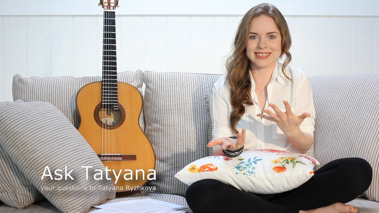 Ask Tatyana Episode 1 - nails, new CD ...