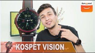 KOSPET VISION 4G Smartwatch Full Review|Buy at Banggood